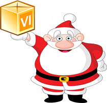 Santa with VI Package