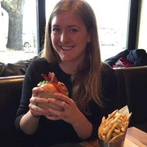 Danielle and Roam Burger