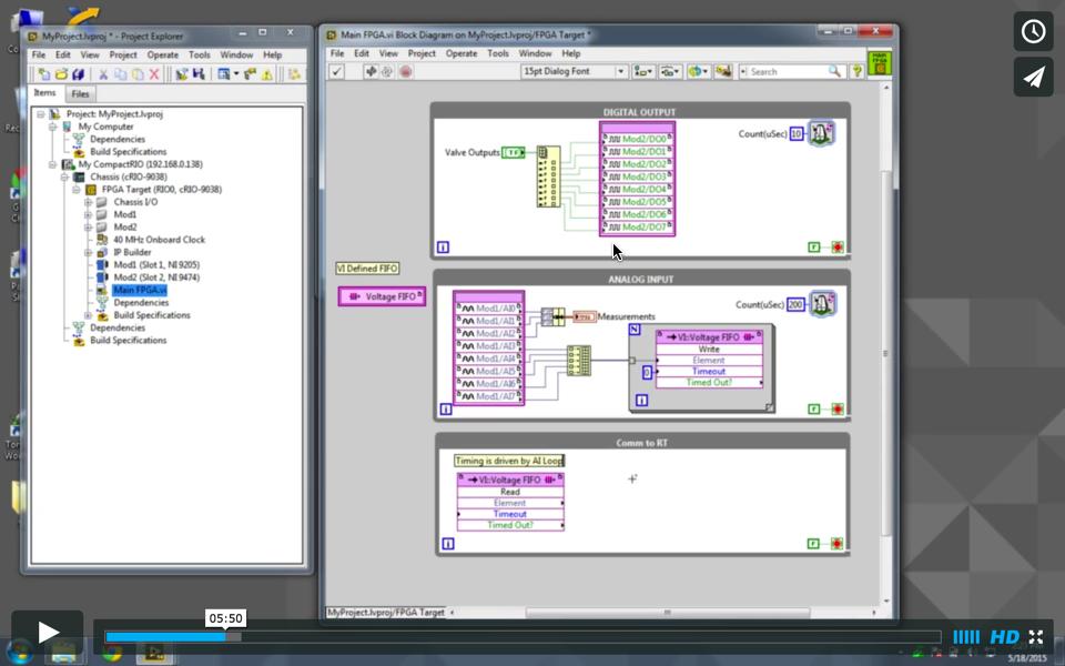 Using The JKI State Machine To Interface LabVIEW FPGA Webinar