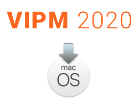 Install VIPM 2020 on MacOS